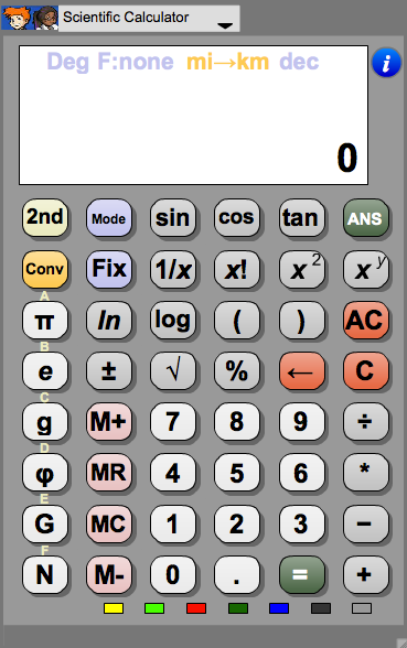 Calculator - Scientific Image