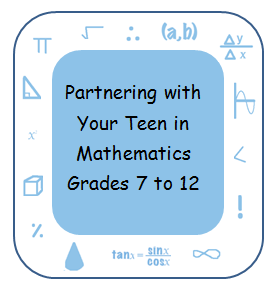 Partnering with Your Teen in Mathematics